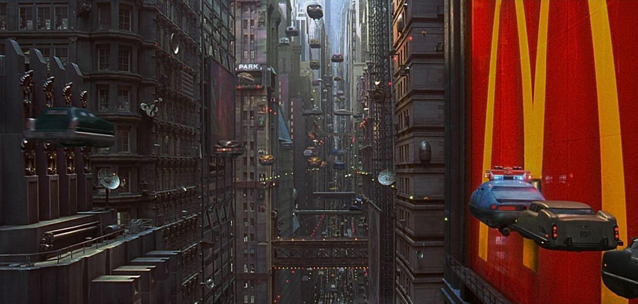 Scène du film Le Cinquième Élément, réalisé par Luc Besson
