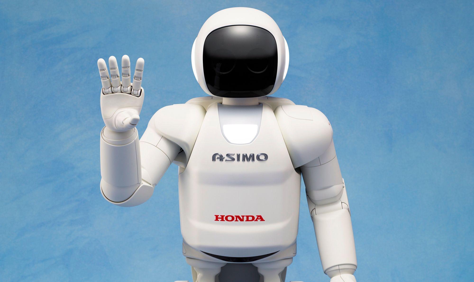 Le robot ASIMO |© HONDA