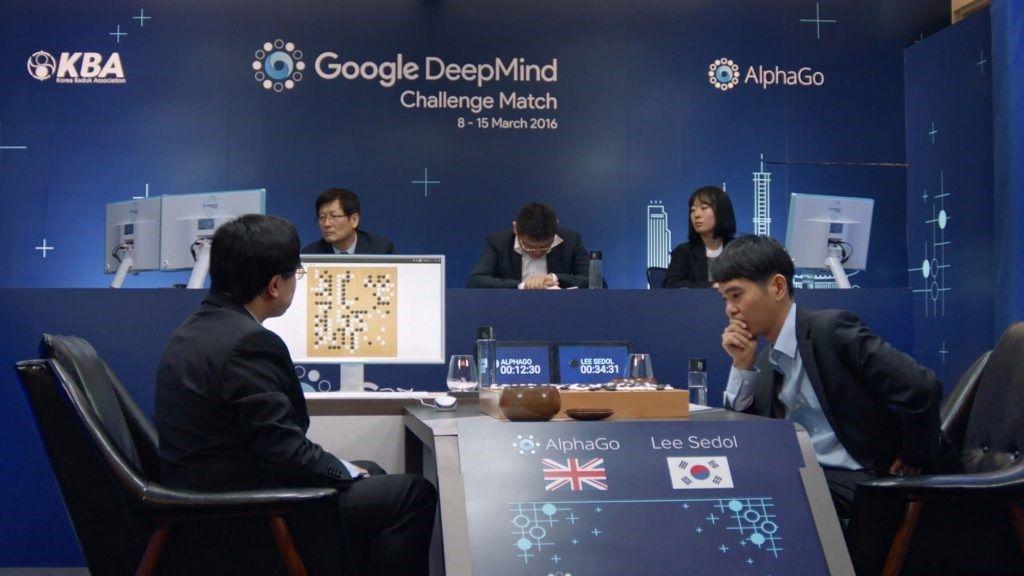 Match entre Lee Sedol et AlphaGo | © Google