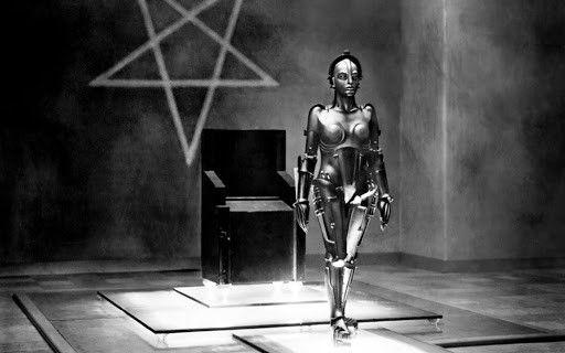Image tirée du film Metropolis, sorti en 1927