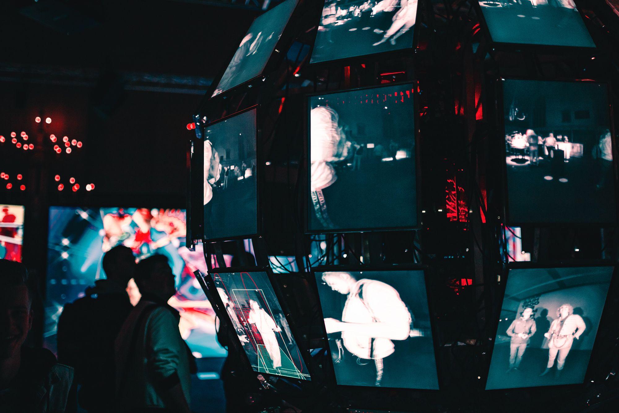 Écrans de surveillance