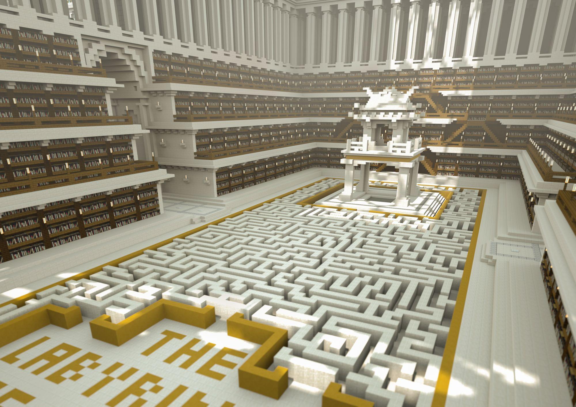 Section dédiée au Vietnam (les livres sont au centre, dans la pagode) - © Reporters Sans Frontières