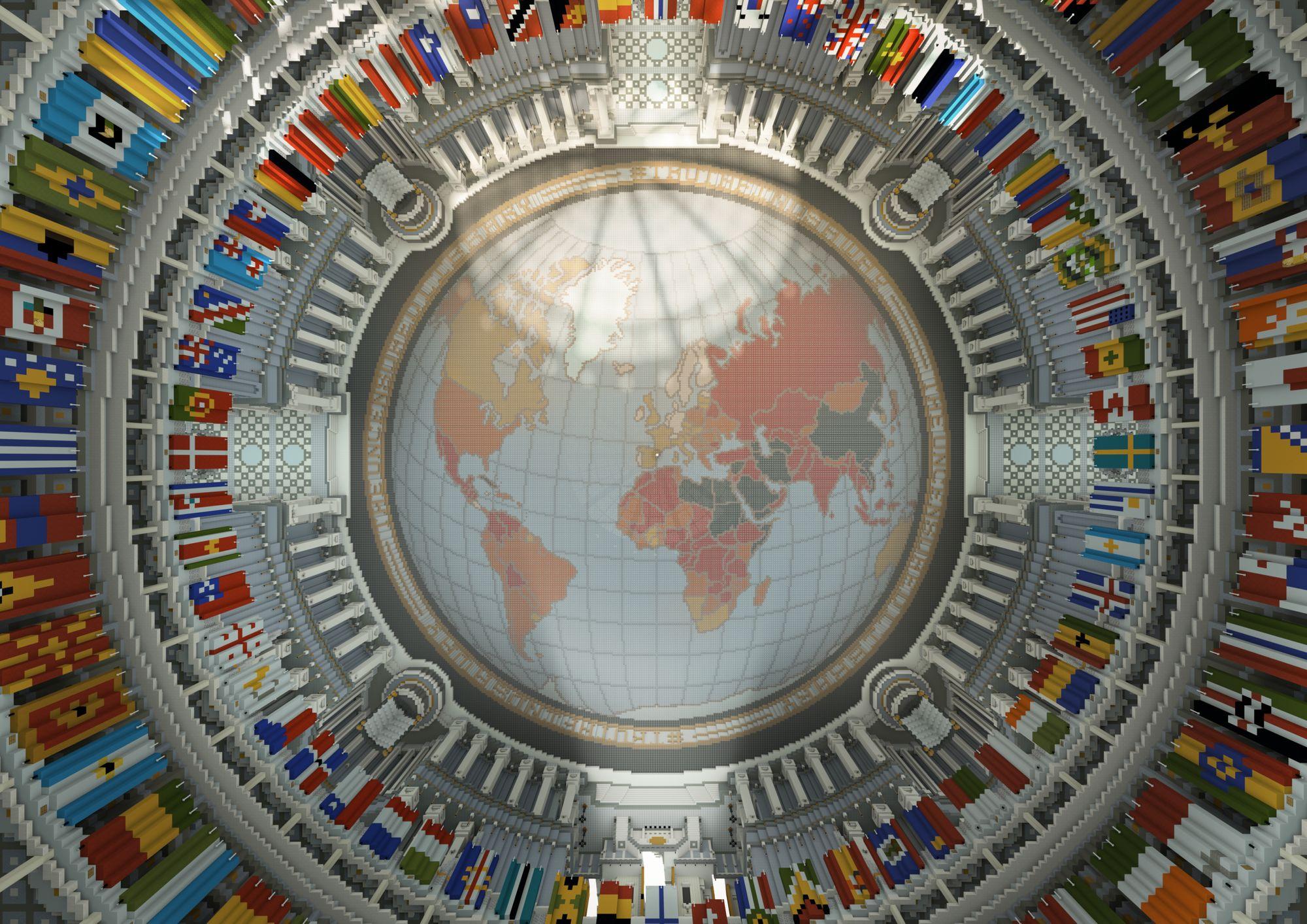 Section centrale de la Bibliothèque libre - © Reporters Sans Frontières