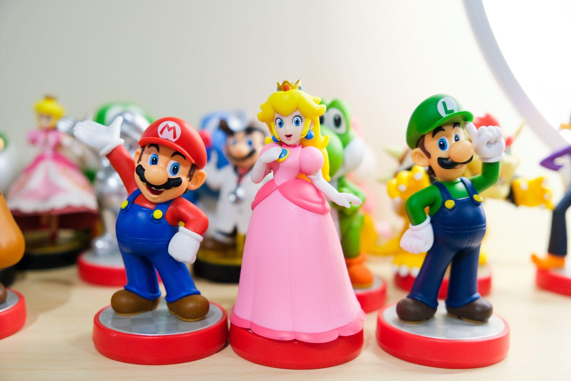 Figurines Nintendo - Photo de Ryan Quintal sur Unsplash