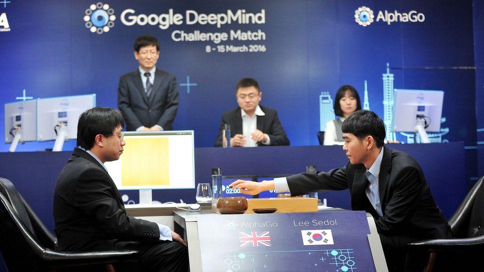 Lee Sedol contre AlphaGo, REUTERS/Korea Baduk Association/News